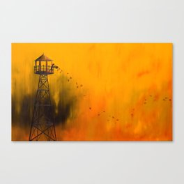 Autumn Tower Canvas Print