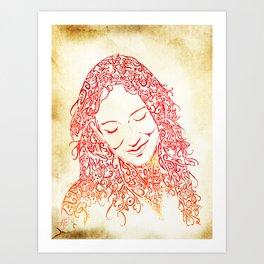 The Muses, no. 5 Art Print