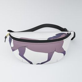 pink horse  Fanny Pack