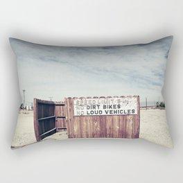 Speed Limit 5 MPH Rectangular Pillow