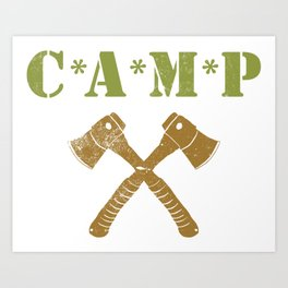 CAMP Art Print
