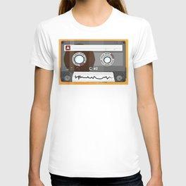 The cassette tape Robot T-shirt