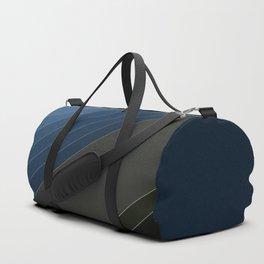 Bands , blue , gray , Duffle Bag