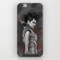 cyrilliart iPhone & iPod Skins featuring Johanna Mason by Cyrilliart