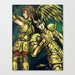 El Cid & Sisyphus fanart Canvas Print