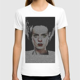The Bride of Frankenstein Screenplay Print T-shirt