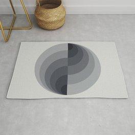 Marble Gray Globe LT Rug