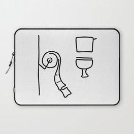 toilet Laptop Sleeve