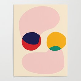 happy shapes Poster
