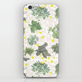 Salad Floral iPhone Skin