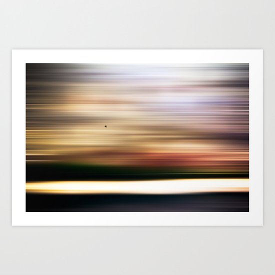 A reflection of my own emptiness Art Print