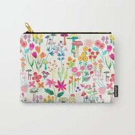 The Odd Floral Garden I Carry-All Pouch
