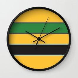 Motorsports Livery Wall Clock