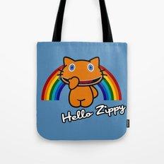 Hello Zippy Tote Bag
