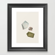 Suburban Dream Framed Art Print