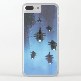 The Voyage Home Clear iPhone Case