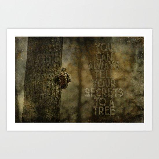 Tree of Secrets Art Print
