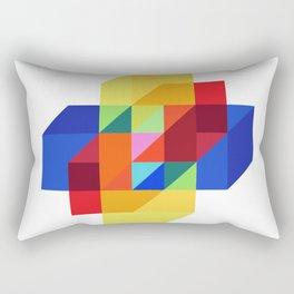 hypercube prism  Rectangular Pillow
