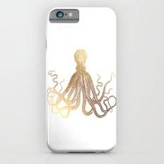 Gold Octopus  Slim Case iPhone 6