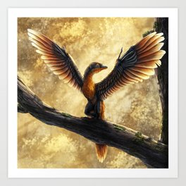 Archaeopteryx Lithographica Commission Art Print