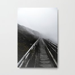 The descent Metal Print