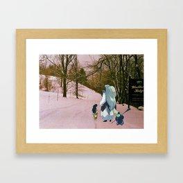 Sesshomaru, Rin and Jaken (Burnsville NC) (Inuyasha) Framed Art Print
