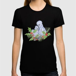 Silkie Chickens - White Christmas T-shirt
