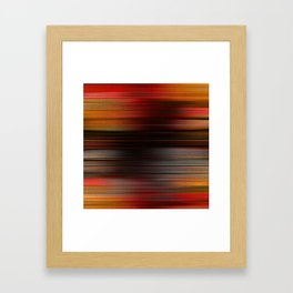 """Abstract Autumn Porstroke (Pattern)"" Framed Art Print"