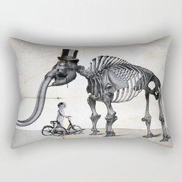 Mister Mastodon And Molly June Rectangular Pillow