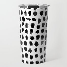 Watercolor Dots Travel Mug