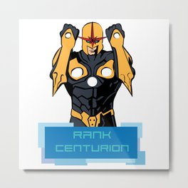 RANK CENTURION Metal Print
