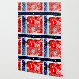 Extruded Flag of Norway Wallpaper