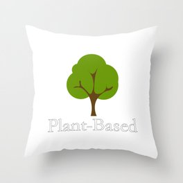 Plant Based Throw Pillow