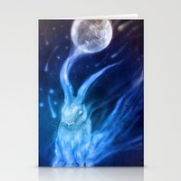 returns Stationery Cards featuring Bluebell Returns by ShadowPaw Pictures