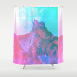 LET YOU GO Shower Curtain
