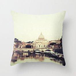 Tiber River Throw Pillow