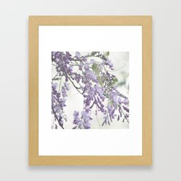Wisteria Lavender Framed Art Print