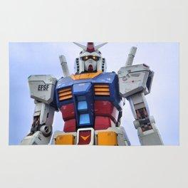 Gundam Stare Rug
