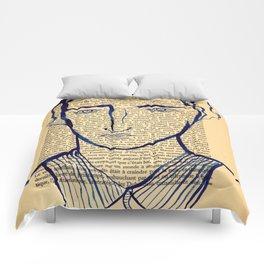 Blue Monsieur Comforters