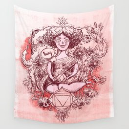 Root Chakra - Witches of the Nine Worlds Wall Tapestry