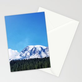 Mount Rainier, Washington Stationery Cards