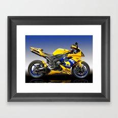 Yamaha R1 Framed Art Print