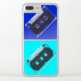 mixed tape Clear iPhone Case