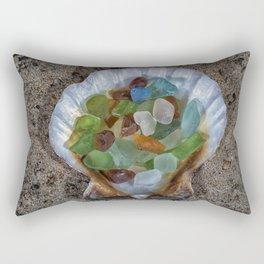 Beach Finds Rectangular Pillow
