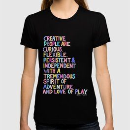 Creative People Matisse Quote  T-shirt
