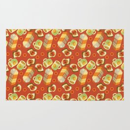 Coffee and Toast (Tomato Sauce Red) Rug