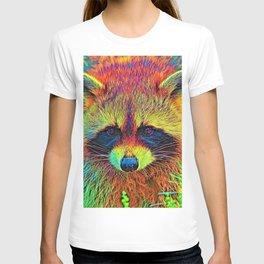 AnimalColor_Racoon_002 T-shirt