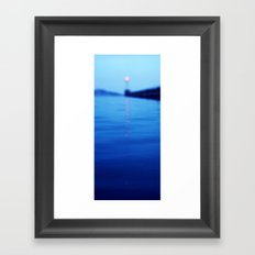 HEADLIGHT Framed Art Print