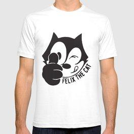 Cartoon Felix The Cat T-Shirts T-shirt