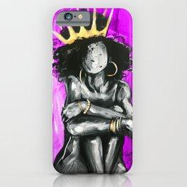 Naturally Queen IX PINK iPhone Case